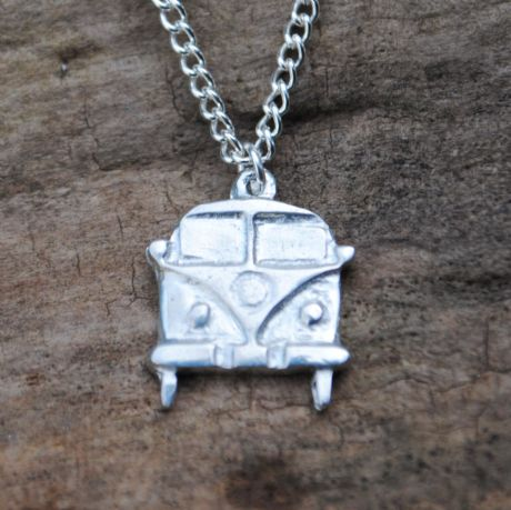 Camper van pendant necklace P79